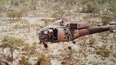 "A little bit of ""cheeky"" military humour to see out the old year – please excuse the brashness but this is typical of military humour. Here a South African Air Force Alouette III helicopter& Military Humor, Military Life, Military History, Military Weapons, Military Helicopter, Military Aircraft, South African Air Force, Air Force Aircraft, Fighter Aircraft"
