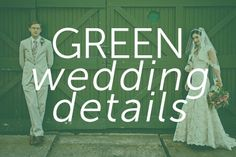 Find all your green wedding inspiration here!