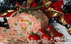 Рулет из лосося | Кулинарные рецепты от «Едим дома!»