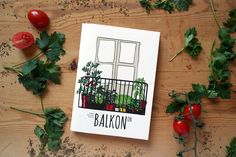 "Check out my @Behance project: ""BALKONON / Illustrated booklet"""
