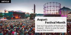 August is full of festivals! See Helsinki This Week's picks.