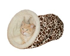 Cat cave soft cat bed cat bedding cat house pet bed cozy cave bed burrow bed
