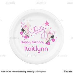 Pink Roller Skates Birthday Party