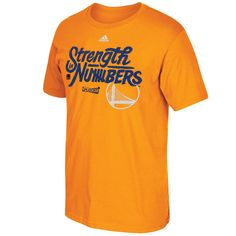 Golden State Warriors adidas On-Court 2016 NBA Playoffs Team Phrase T-Shirt - Gold
