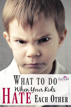 Dear Parents, THIS is one of the most honest, heart-felt posts I've read on this topic! Find out what to do when your kids hate each other. A must-read for every parent!