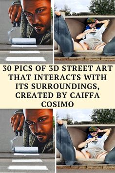 Street art has had a bad reputation, some people even think it's a crime, but there are some amazing artists out there who transform empty walls Funny Jokes And Riddles, Funny Corny Jokes, Funny Disney Jokes, Funny Fun Facts, Hilarious, Extremely Funny Jokes, Terrible Jokes, 3d Street Art, Street Artists