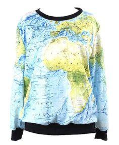 Globe sweater