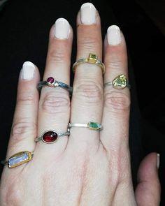 #nicen'simple #silver #gem #rings#konstantinatojewels# Gems, Jewels, Simple, Rings, Silver, Instagram, Jewelery, Ring