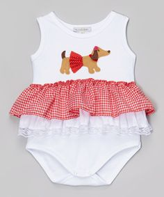 Dachshund baby clothing