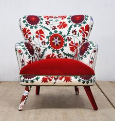 Suzani Armchair - August