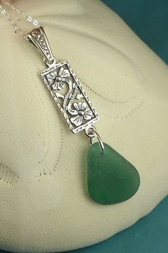 Sea Glass Jewelry Sterling by seaglassgems4you, $42.00