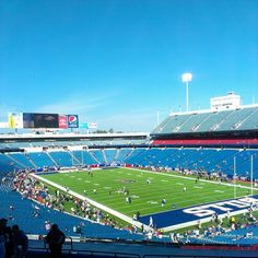 """See 1212 photos from 9626 visitors about bills games, buffalo bill, and bills fans. """"While the stadium doesn't have the frills and fancy features. Ralph Wilson Stadium, Orchard Park, Buffalo Bills, Places Ive Been, Pens, Tours, Winter, Classic, Sports"""