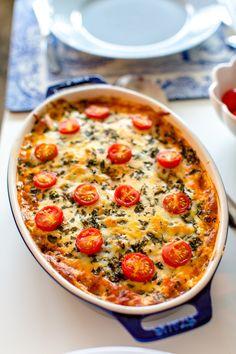 Köttfärsgratäng med mozzarella och färsk oregano - 56kilo.se - Recept, inspiration och livets goda