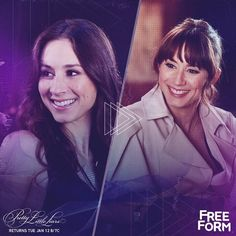 Spencer Hastings Flashback + Flash forward. Don't miss the PLL winter premiere Tuesday, January 12 at 8pm|7c on Freeform, the new name for ABC Family.