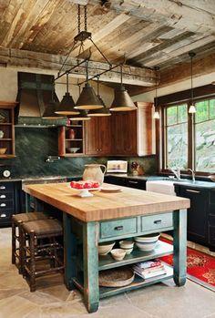 Stylish Rustic Kitchen