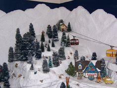 Christmas Village Ideas | BEST CHRISTMAS DECORS: CHRISTMAS VILLAGE - HOME DECOR