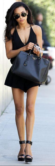 Little Black Dress + Prada Bag <3