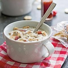 New England Clam Chowder | MyRecipes.com