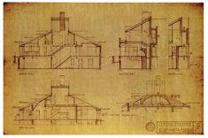 Vanna Venturi House: By Robert Venturi, in Chestnut Hill, Pennsylvania, USA