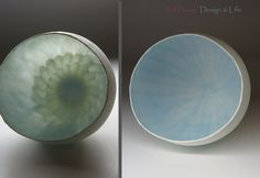 paper thin porcelain votive by TedPlayingDesignArt on Etsy