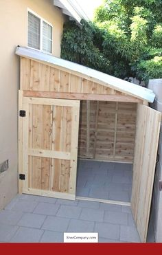 Considering a garden shed? Thinking about building it yourself? Then before you embark on your project make sure you have a reliable shed plan for the design you have in mind. Building your own shed can without doubt cut costs but Wood Shed Plans, Shed Building Plans, Diy Shed Plans, Shed Ideas, Lean To Shed Plans, Garage Ideas, Building Ideas, Shed Addition Ideas, Building Design