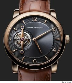 David Yurman Ancestrale Tourbillon Watch. This is gorgeous.