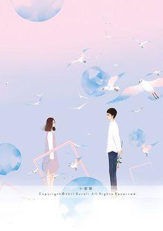 Lưu = follow me #stock Couple Illustration, Character Illustration, Illustration Art, Cute Couple Art, Anime Love Couple, Chibi Couple, Cover Wattpad, Desenhos Love, Lines Wallpaper