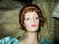 Gibson Girl - Night at the Opera - Bisque Franklin Mint Heirloom Doll