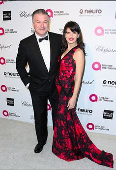 Alec Baldwin & Wife Bump Up The Oscars