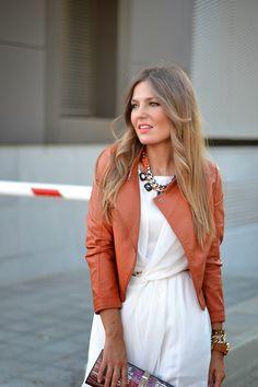 Oblique Zippers Slim PU Jacket - Fashion Clothing, Latest Street Fashion At Abaday.com