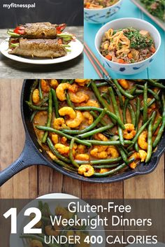 12 Gluten-Free Weeknight Dinners–Under 400 Calories ‹ Hello Healthy