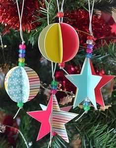 papermau christmas time christmas ornaments for kids by piclebums homemade christmas christmas