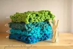 Crochet scarf  pontinhos ao vento: Tendências