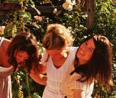 girls having fun, holiday