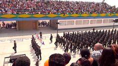 7 de setembro 2011 São Paulo- Desfile naval e da tropa do exército brasi...