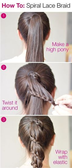 Don't get stuck into a hairstyle rut. Learn to style your hair in easy braids that anyone can master * For more information, visit image link.