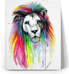 ROC Lion Colors Canvas