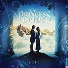 Princess Bride 2013 Wall Calendar   Comedy Movies   CALENDARS.COM