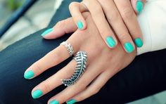 pretty color i am gonna get my nails done like this