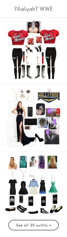 """🌸Aaliyah🌸 WWE"" by serenamarie273 ❤ liked on Polyvore featuring Allurez, Bling Jewelry, Anne Sisteron, WWE, Rachel Allan, Ross-Simons, Qupid, Casetify, Reiss and Royce Leather"