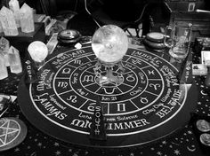 I've never used a crystal ball for scrying. Maybe I should start?Me: I'm awful at crystal ball scrying. Yennefer Of Vengerberg, Pagan Altar, Wicca Witchcraft, Wiccan Witch, Mystique, Witch Aesthetic, Fortune Telling, Book Of Shadows, Black Magic