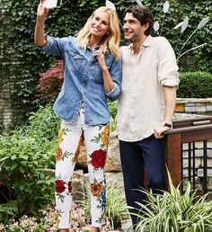 We love these Fleur White Petal Pants from Up! Special order your size or even additional prints now through January in store during our Up! Pants Trunk Show. Niki Taylor, Pants Pattern, Trunks, Capri Pants, Night, Red, Patterned Pants, Jackets, Instagram