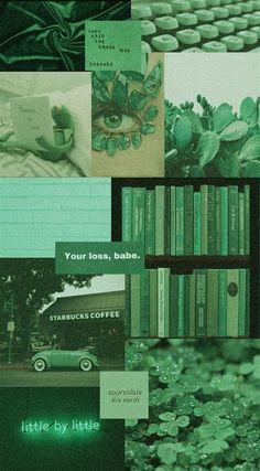 Green Aesthetic Wallpaper 💚 | Aesthetic Wallpapers, Iphone