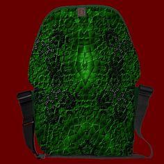 """Valhalla Mandala II"" Messenger Bag"