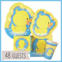 """Rubber Ducky Baby Shower Ideas 