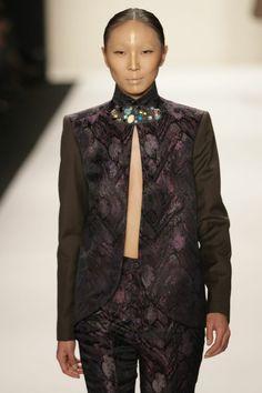 katya Zol highres - New York Fashion Week Fall-Winter 2014 - Katya Zol - Gallery - Modelixir Universe Fall Winter 2014, New York Fashion, Universe, Bomber Jacket, Gallery, Womens Fashion, Jackets, Outfits, Haute Couture