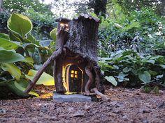 Fairy House lights the way home