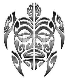 gravura-poster-maori-tartaruga-3b-tribais.jpg (332×400)