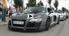 Audi R8 V10 Performance Exhaust