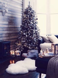 This kind of christmas would be cozy.